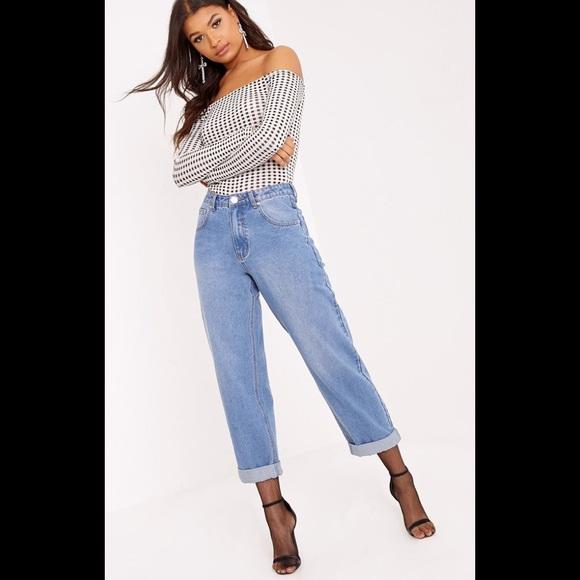 e44844e0f5b4bc PrettyLittleThing Jeans | Light Wash True Boyfriend Fit Jean | Poshmark